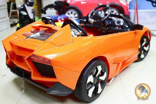 樂園毒-兒童超跑-兒童電動車-藍寶堅尼-LP-700-橘色-小雙人-出租服務-婚禮出租