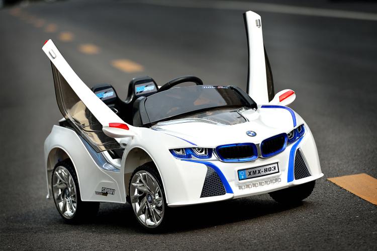 樂園毒-拉風跑車-剪刀門-拋光版-兒童超跑-兒童電動車-仿真車-類BMW, BENZ, I8