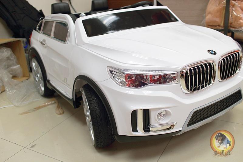 樂園毒-授權超跑-兒童超跑-兒童電動車-雙人座-左駕-寶馬-BMW-X7-出租服務-婚禮出租
